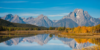 Großartiges Teton Lizenzfreie Stockbilder
