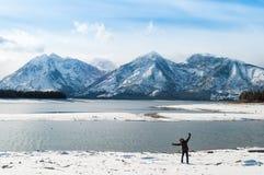 Großartiges Teton lizenzfreies stockfoto
