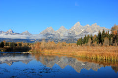 Großartiges Teton, Wyoming, USA. Lizenzfreie Stockfotos