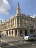 Großartiges Theater von Havana Lizenzfreie Stockfotografie