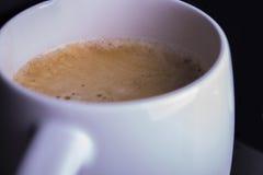 Großaufnahme des Kaffees Americano Lizenzfreies Stockfoto