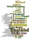 Großbritannien lizenzfreie abbildung