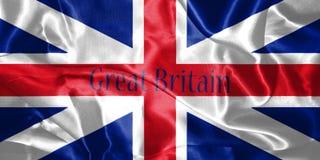 Großbritannien-Flaggen-König ` s Farben Zivil- und der Zustands-Fahne 3D Kranke Stockfotografie
