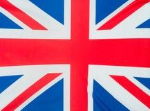 Großbritannien-Markierungsfahne Stockbild