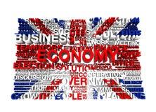 Großbritannien-Markierungsfahne Lizenzfreies Stockfoto