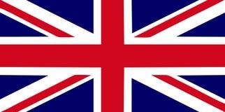 Großbritannien-Markierungsfahne Lizenzfreie Stockfotos