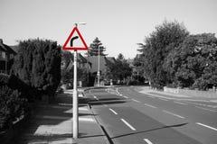 Großbritannien, Straßen-Verkehrszeichen Lizenzfreie Stockfotografie