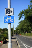 Großbritannien, Straßen-Verkehrszeichen Stockbild