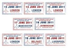 Großbritannien u. Irland Lizenzfreie Abbildung