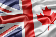 Großbritannien und Kanada Lizenzfreies Stockbild
