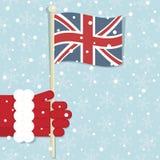 Großbritannien-Weihnachten Stockfotografie