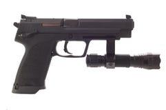 Große 9 Millimeter-Pistole Lizenzfreies Stockbild