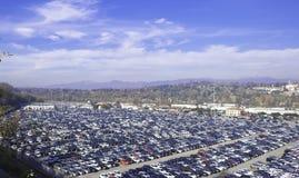 Große Ablagerung für Auto Lizenzfreie Stockbilder
