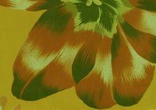 Große abstrakte Blume für Hintergrund Stockbild