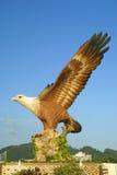 Große Adlerstatue - das Symbol von Langkawi Lizenzfreies Stockbild
