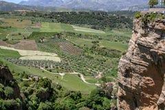 Große Ansicht über die Berge Sierra Nevada s lizenzfreie stockfotos