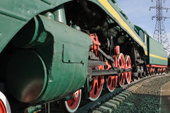 Große Ansicht der Passagierstromlokomotive P36 Stockfotografie