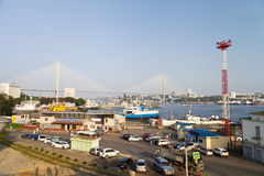 Große Aufhebungbrücke stockbilder