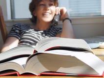 Große Bücher stockfotografie