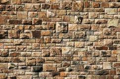 Große Backsteinmauer Stockbilder