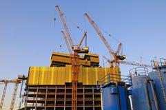 Große Baustelle Stockbilder