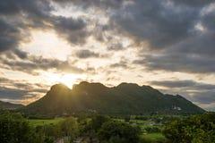 Große Berge Lizenzfreies Stockbild
