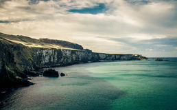 Große Beschaffenheit von Irland Stockbilder