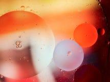 Große Blasen im Wasser Stockbilder