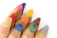 Große Bleistiftnahaufnahme Stockbild