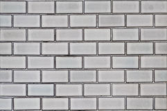 Große Blockwand Stockfoto
