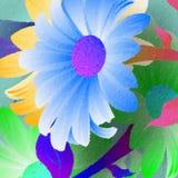 Große Blume Lizenzfreies Stockfoto