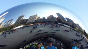 Große Bohne Chicagos Lizenzfreies Stockfoto