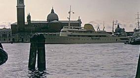 Große Boote Venedig stock footage