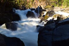 Große Boulder-Stromschnellen Lizenzfreie Stockbilder