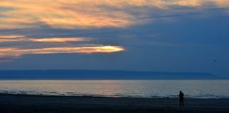 Große Bucht und das photog Lizenzfreies Stockbild