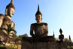 Große Buddha-Statue Lizenzfreie Stockfotos