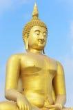 Große Buddha-Statue Stockbild