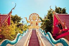 Große Buddha-Statue im KOH Samui, Thailand Stockfotografie
