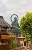 Große Buddha-Statue in Takaoka, Japan stockbilder