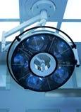 Große chirurgische Lampe Stockfotografie