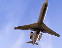 Große Düsenflugzeug Lizenzfreie Stockfotos