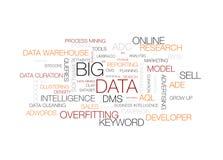 Große Daten Lizenzfreies Stockfoto