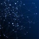 Große Daten bewölken wissenschaftliches Konzept lizenzfreie abbildung
