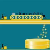 Große Daten und Datenbank Lizenzfreie Stockbilder