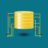 Große Datendatenbankfrage verlassen Lizenzfreie Stockbilder