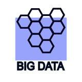 Große Datensichtbarmachung Konzeptvektor vektor abbildung