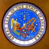 Große Dichtung des Staates von Arkansas Stockfoto