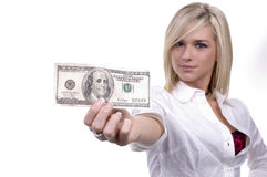 Große Dollars Lizenzfreie Stockfotografie
