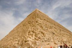 Große egipt piramids. Lizenzfreies Stockfoto