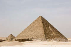 Große egipt piramids. Lizenzfreies Stockbild